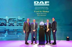"Společnost DAF uděluje ocenění ""International Dealers of the Year 2020"""